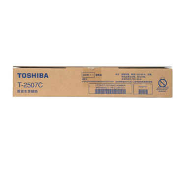 图片 东芝T-2507C原装粉盒240g(粉盒)