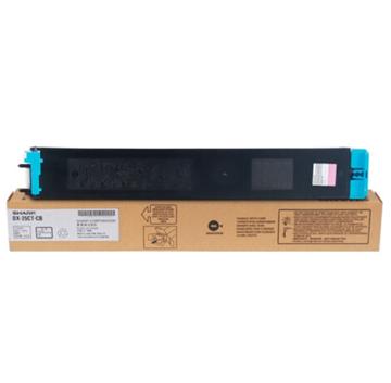 图片 夏普DX-25CT-CB原装墨粉盒140g(青色)