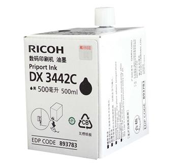 图片 DX3442C油墨500ml(适用于理光DD2433C复印机)