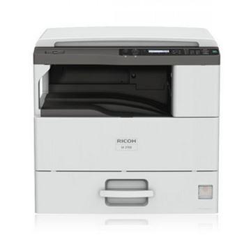 图片 理光/RICOH  M2700标配复印机 A3黑白数码复合机 标配盖板+单纸盒(双面打印/复印/扫描/网络)一年保修