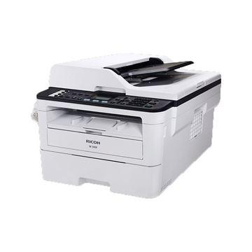 图片 理光/RICOH M 340F A4黑白激光打印机 复印机 多功能一体机一年保修