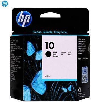 图片 HP分体式墨盒HP10黑色墨盒C4844A