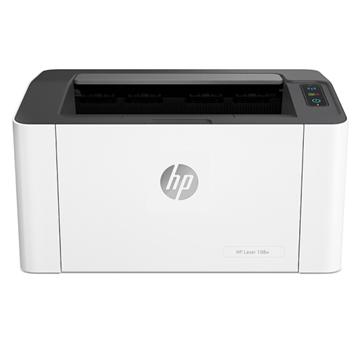 图片 惠普(HP)Laser 108w A4幅面黑白激光打印机 无线网络打印 20页/分钟 手动双面打印 适用耗材:HP 110A 一年保修