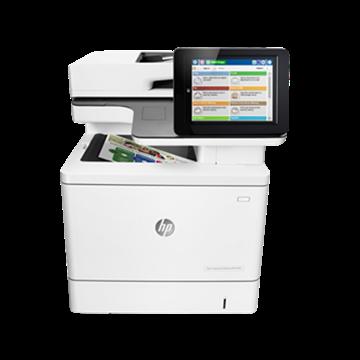 图片 惠普(HP)Color LaserJet Pro MFP M577dn 彩色三合一一体机(打印 复印 扫描 ) 一年下一个工作日上门
