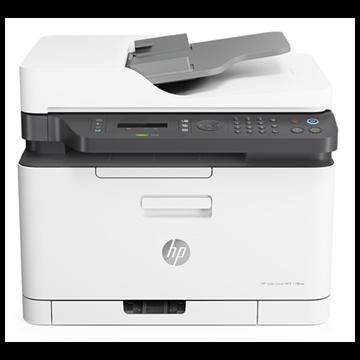 图片 惠普 (HP)Color Laser MFP 179fnw锐系列新品彩色激光多功能一体机 四合一, 一年送修